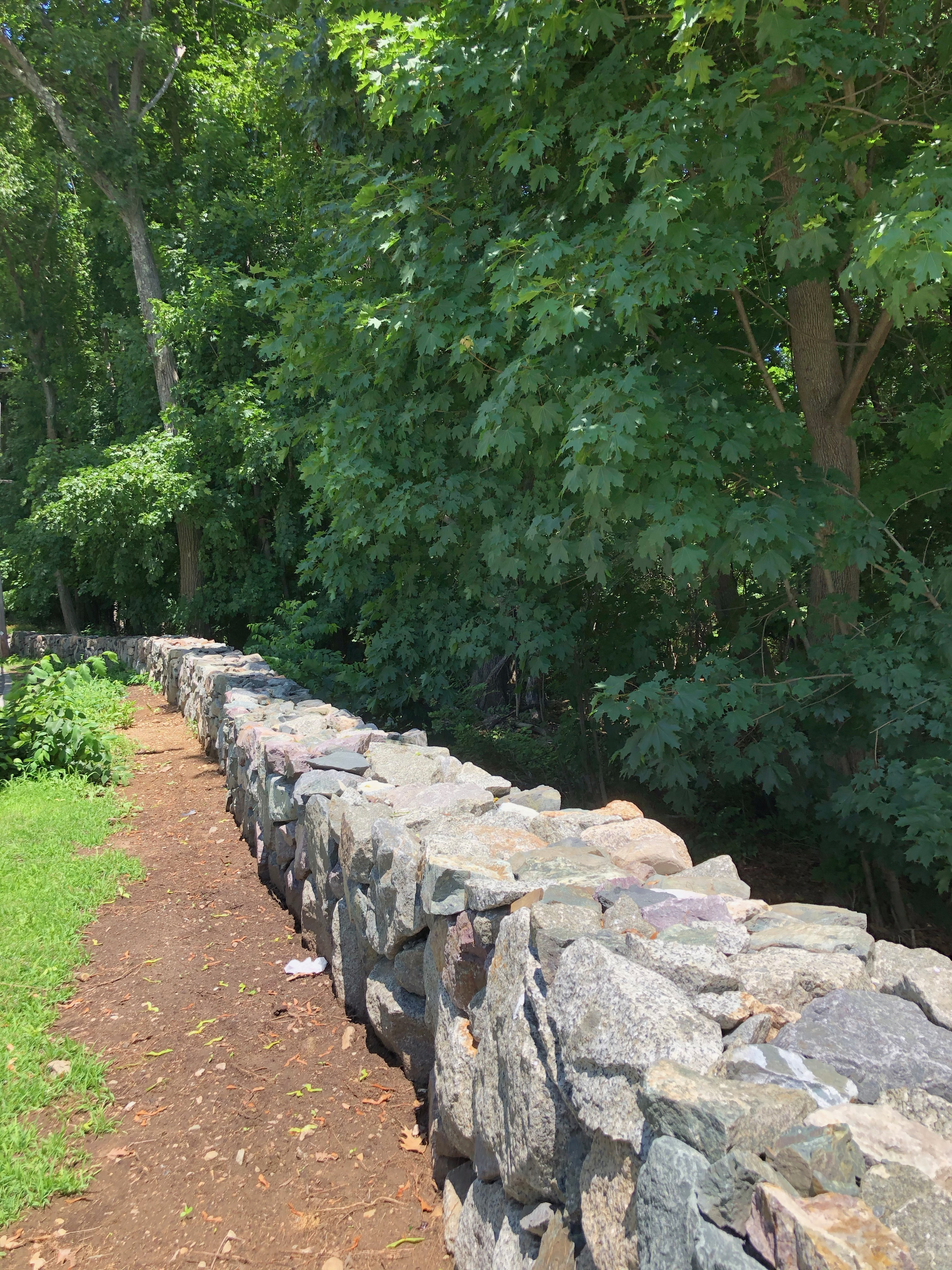 Brooks Estate Stone Wall