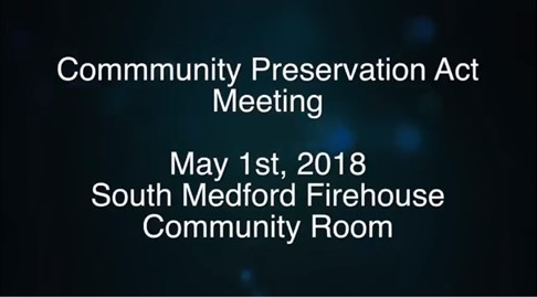 May 1, 2018 CPC meeting video